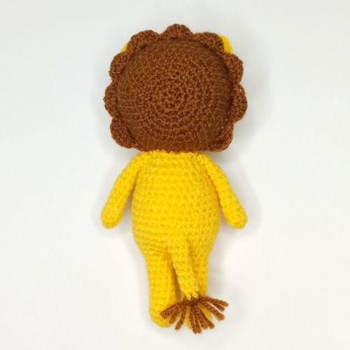 Lion Crochet Toy